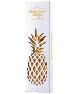Fine Gift | Hawaiian Pineapple Crisps Cut-Out Paper Box