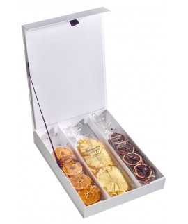 Assorted Crisps Gift Box (solid cover) - 3 Piece