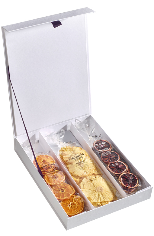 3 pc Assorted Crisps Premium Box (solid cover)