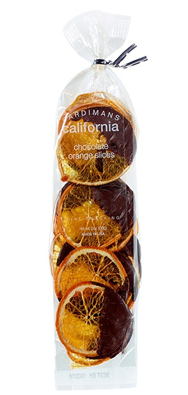 Dark Chocolate Orange Crisps