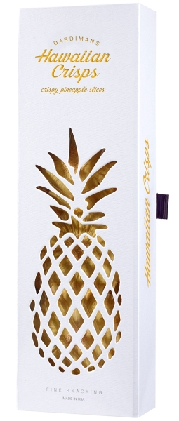 Fine Gift | Hawaiian Pineapple Crisps Cut-Out Magnet Box
