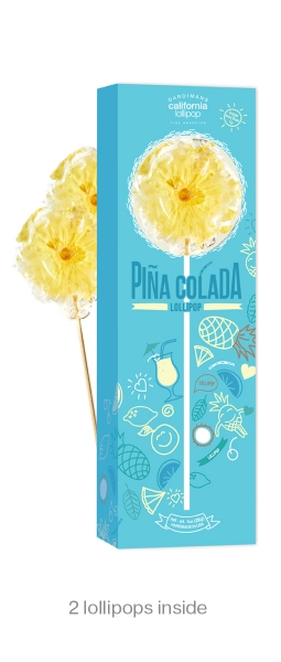Pina Colada Lollipop Box