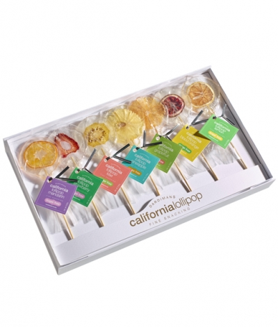 Assorted Lollipop Set (clear cover)